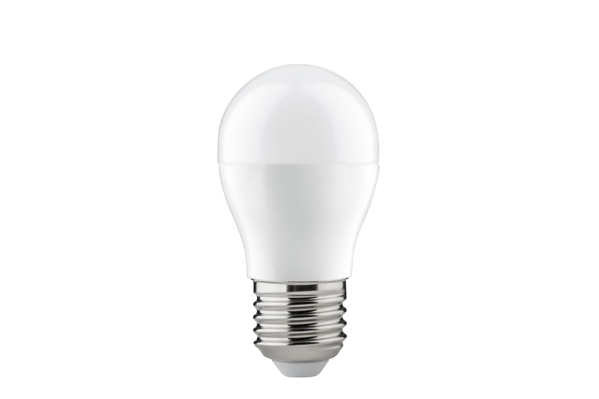 led tropfenlampe 6 watt e27 warmwei opal 28296. Black Bedroom Furniture Sets. Home Design Ideas
