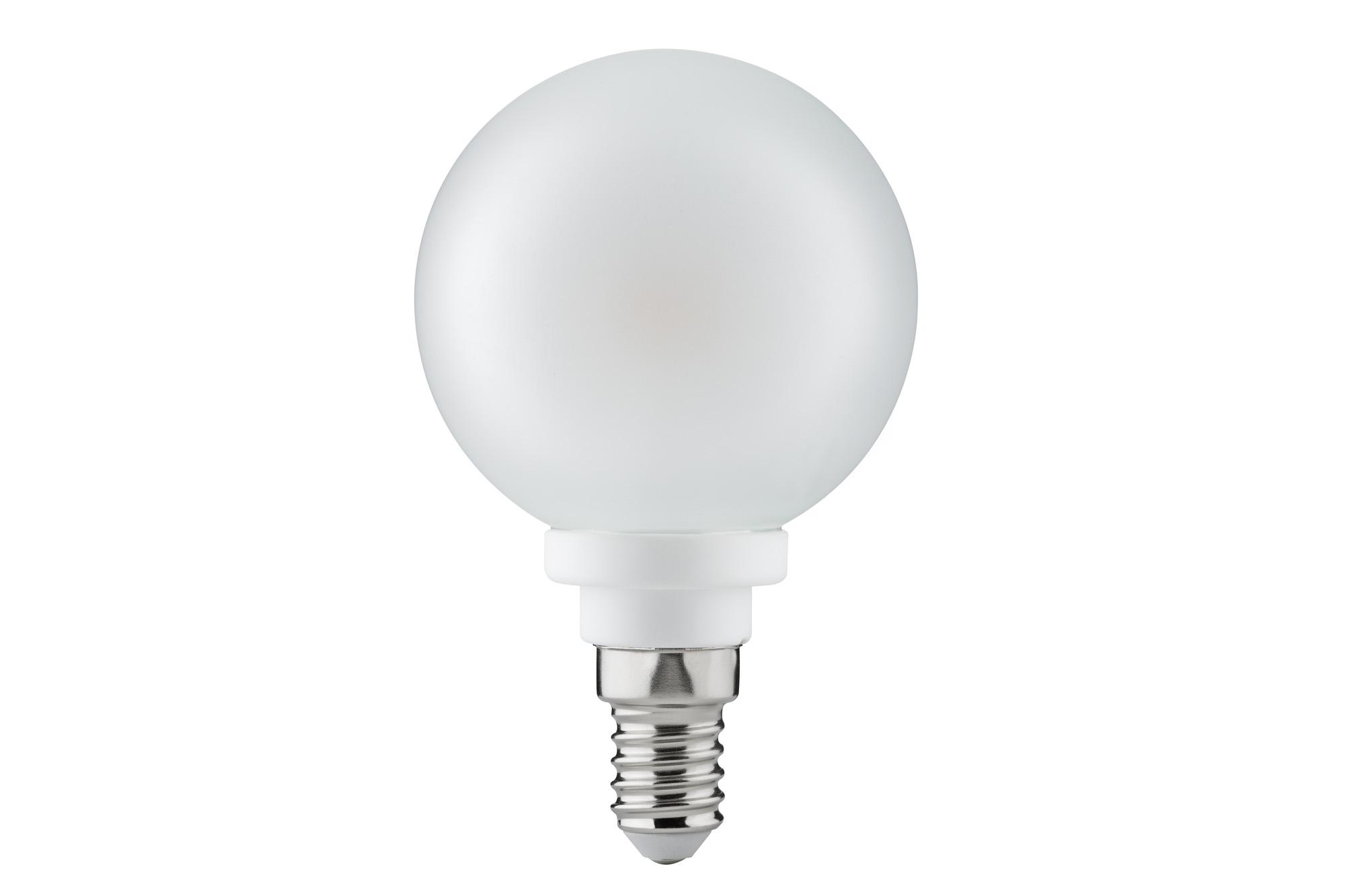 LED Globelampe 60mm 4 Watt E14 Warmweiß Satin-28324