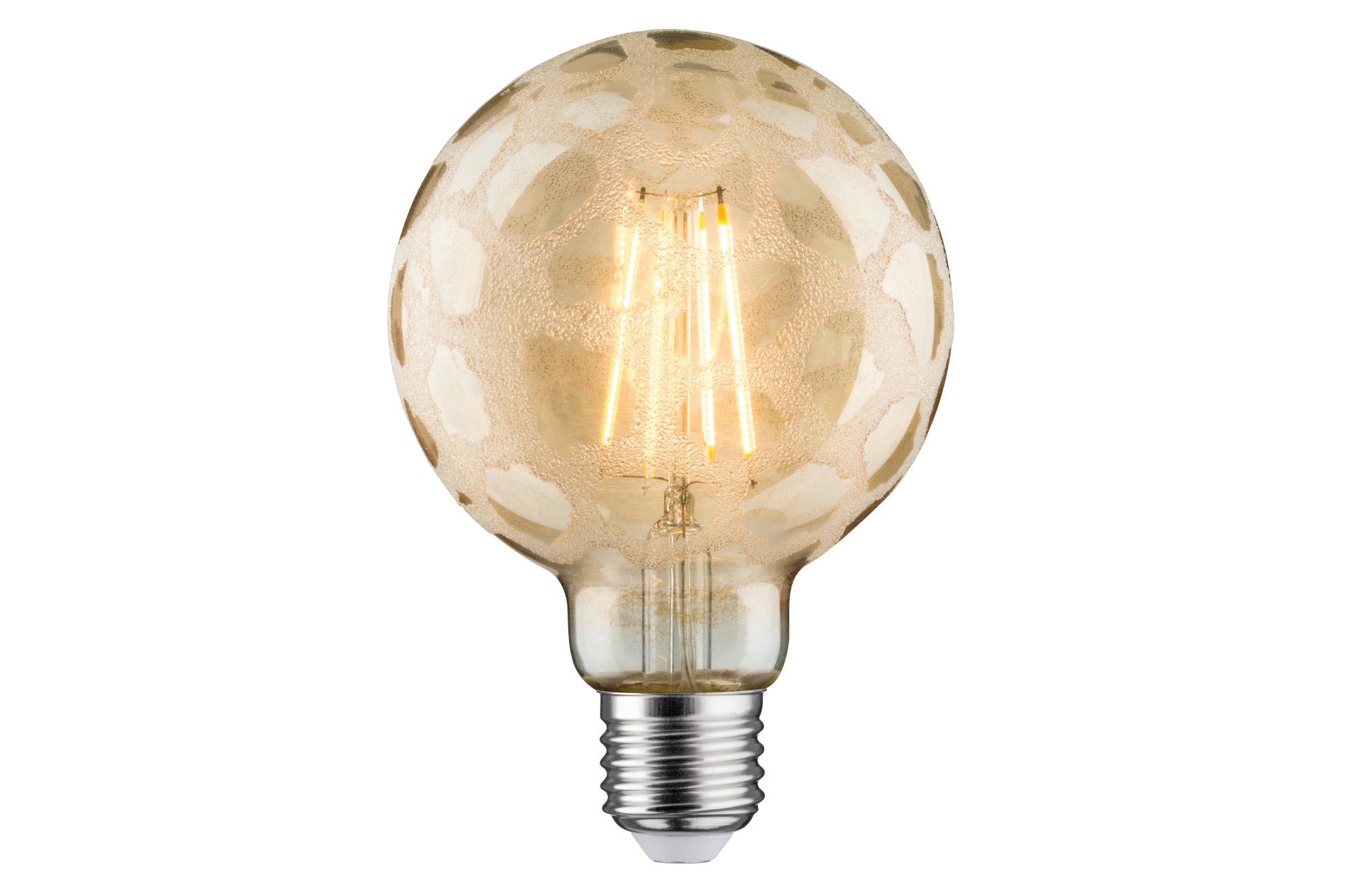 led retro globe 95 6w e27 krokoeis gold warmwei dimmbar 28488. Black Bedroom Furniture Sets. Home Design Ideas