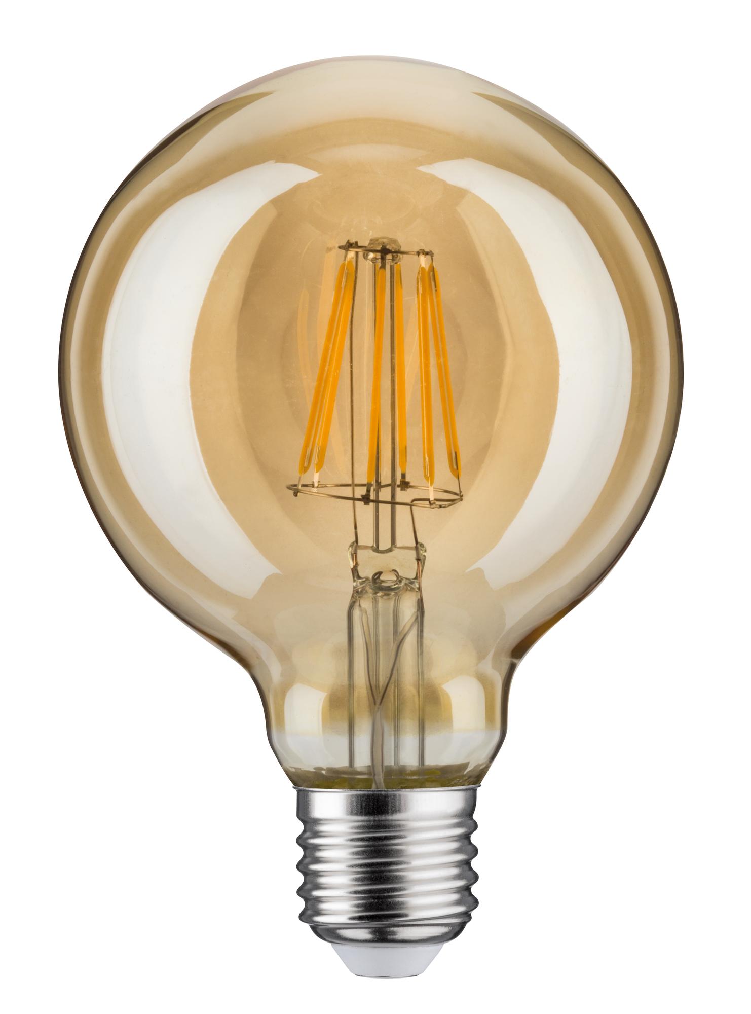 led vintage globe 95 6w e27 gold goldlicht dimmbar 28521. Black Bedroom Furniture Sets. Home Design Ideas