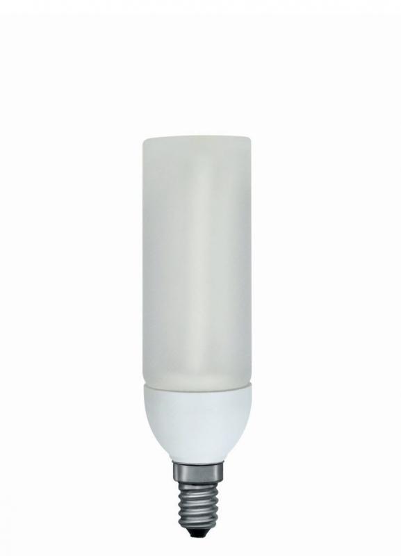 energiesparlampe decopipe gerade 9w e14 warmwei 89409. Black Bedroom Furniture Sets. Home Design Ideas