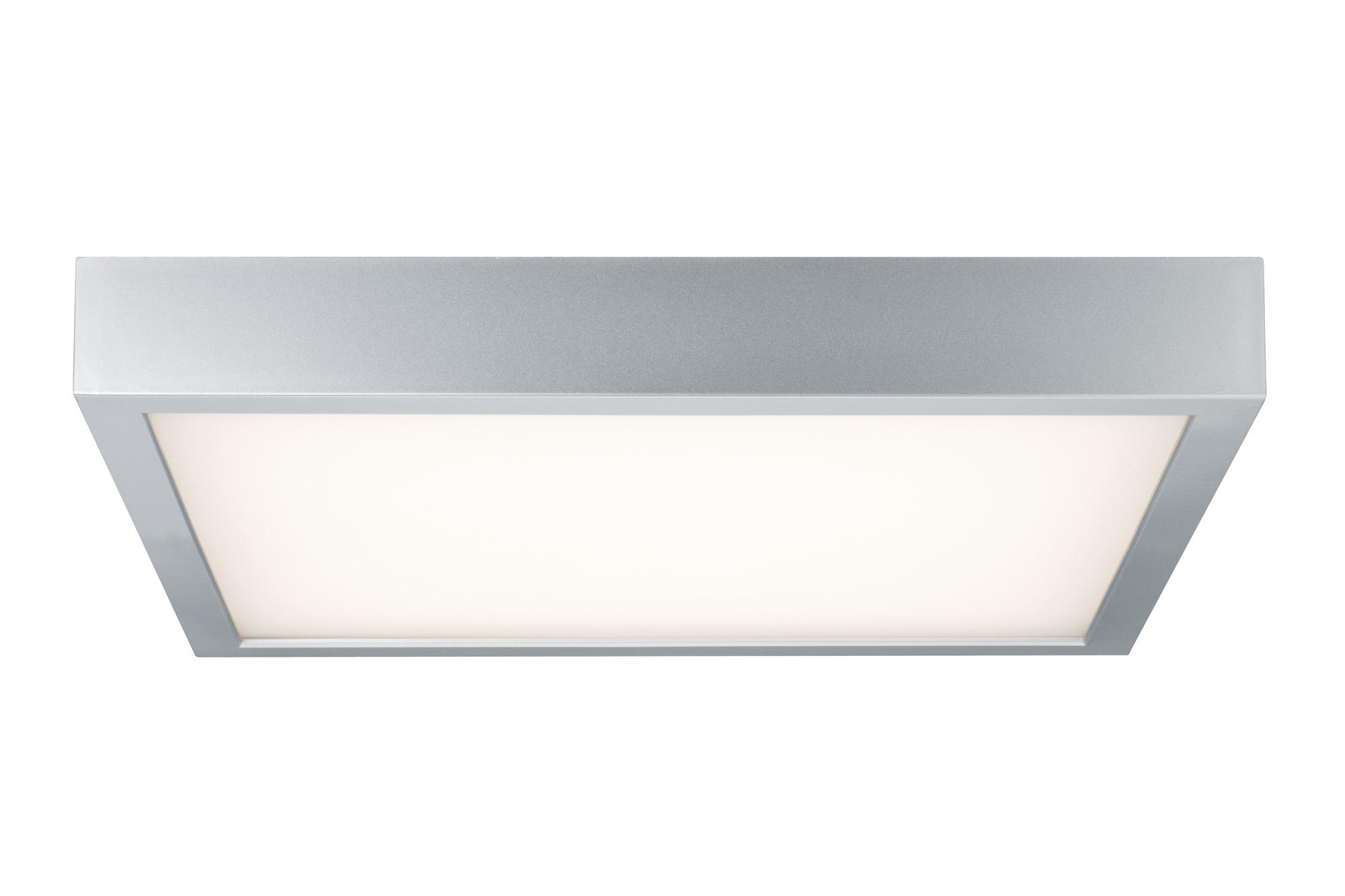 wand deckenleuchte space led panel 18 5w chrom matt wei kunststoff 70385. Black Bedroom Furniture Sets. Home Design Ideas