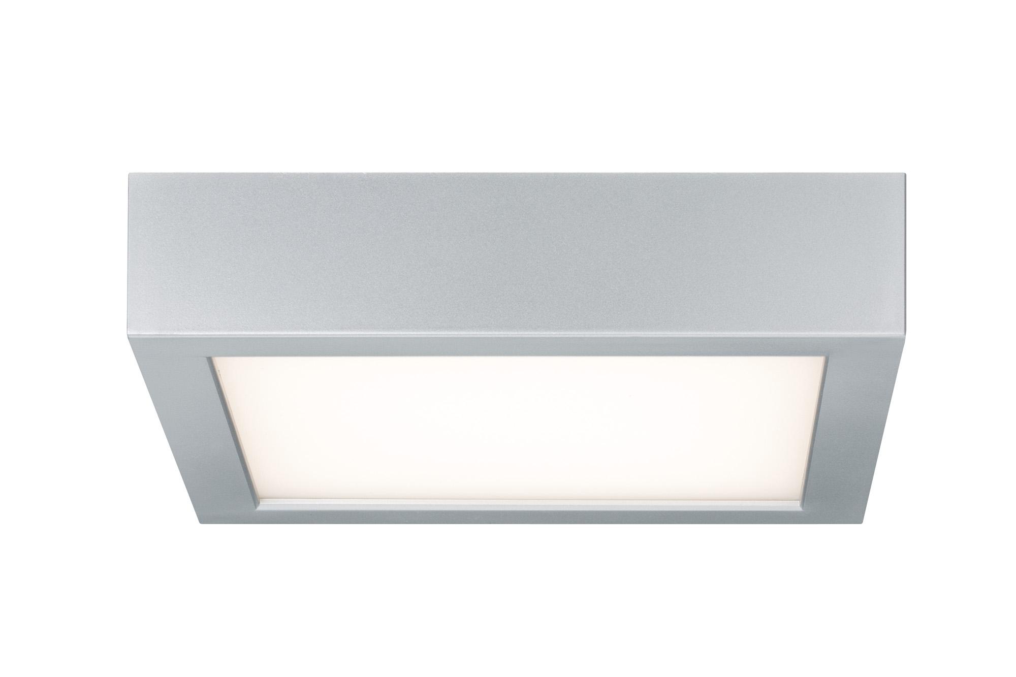 wand deckenleuchte space led panel 11w chrom matt wei kunststoff 70387. Black Bedroom Furniture Sets. Home Design Ideas