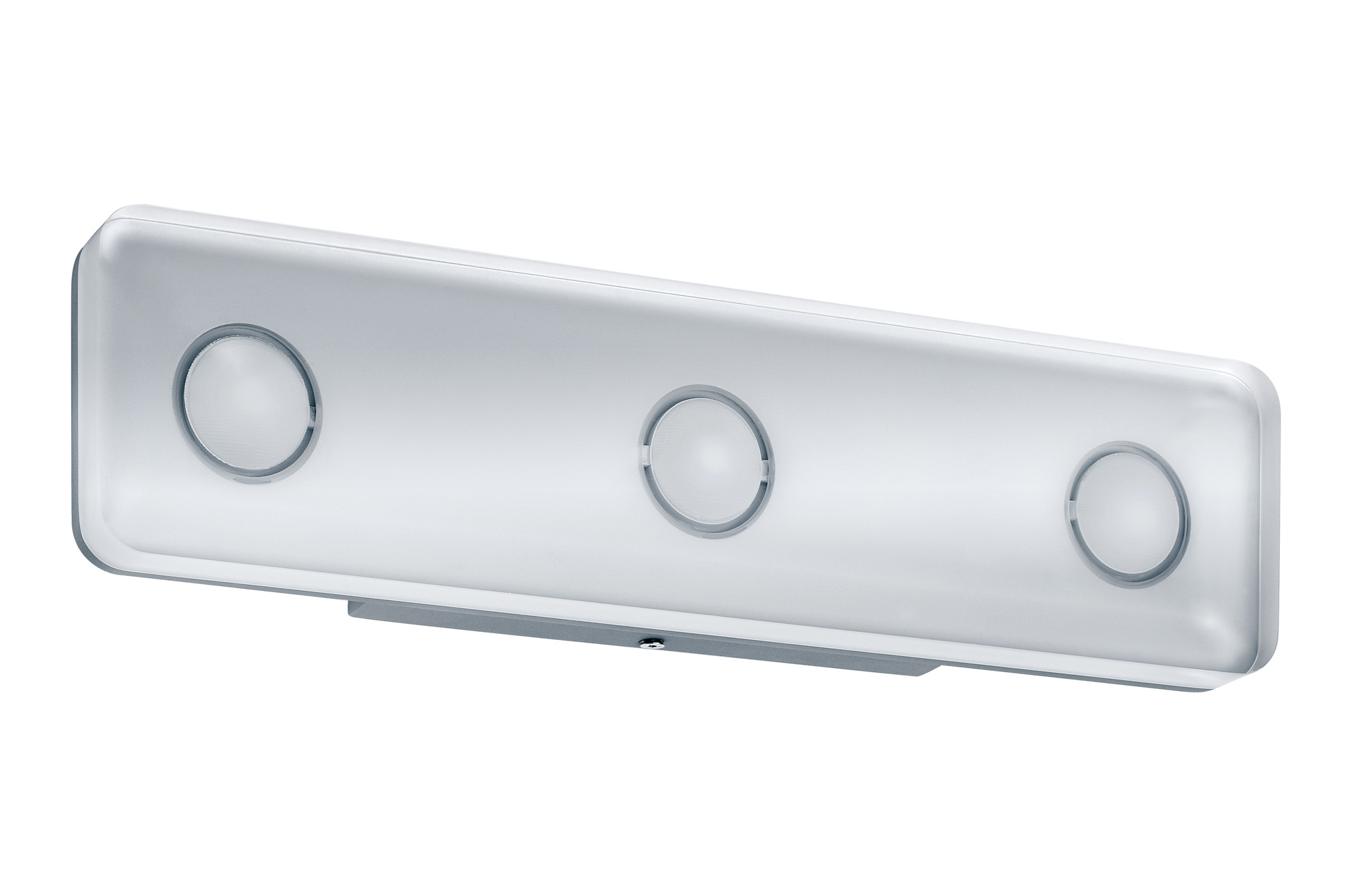 led wandleuchte theta eckig 13 5w aluminium klar 70479. Black Bedroom Furniture Sets. Home Design Ideas