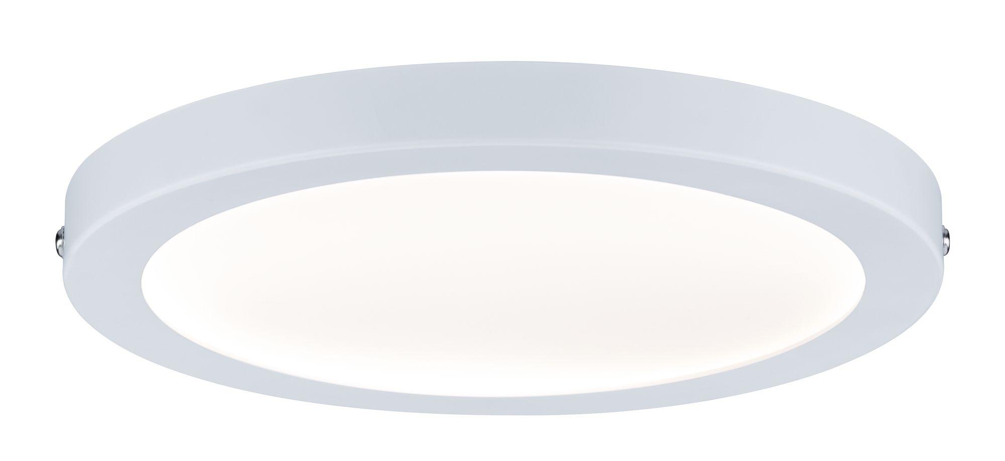 wand deckenleuchte atria led panel rund 18 5w wei matt dimmbar 70868. Black Bedroom Furniture Sets. Home Design Ideas
