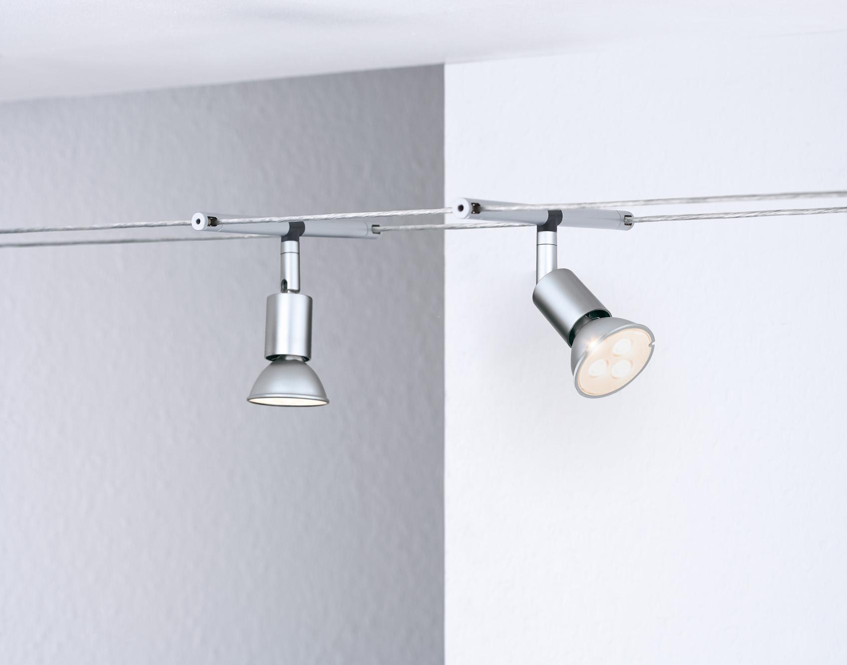 led seilsystem spice saltled 5x4w chrom matt 94124. Black Bedroom Furniture Sets. Home Design Ideas